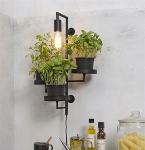 Wall lamp black Florence