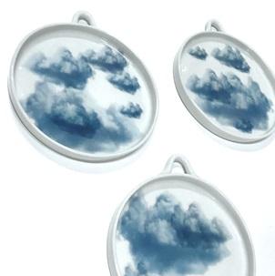 Wolken Bord met oog