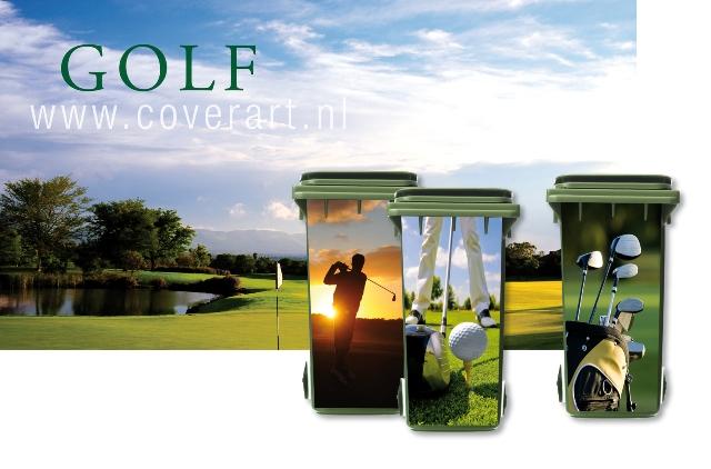 nieuwe golf lijn containerstickers