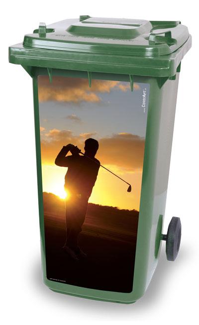 Golf sunrise