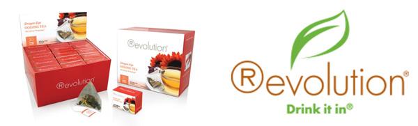 Revolution tea - logo