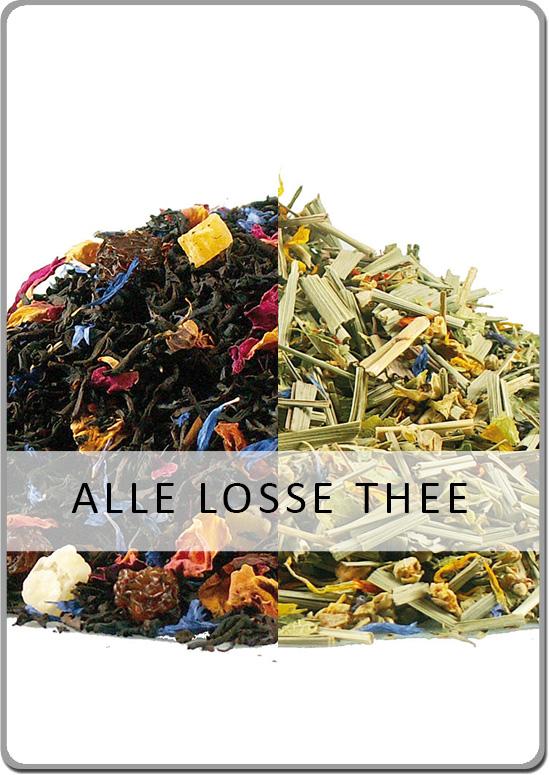 Alle losse thee van Van Hilst Koffie en Thee