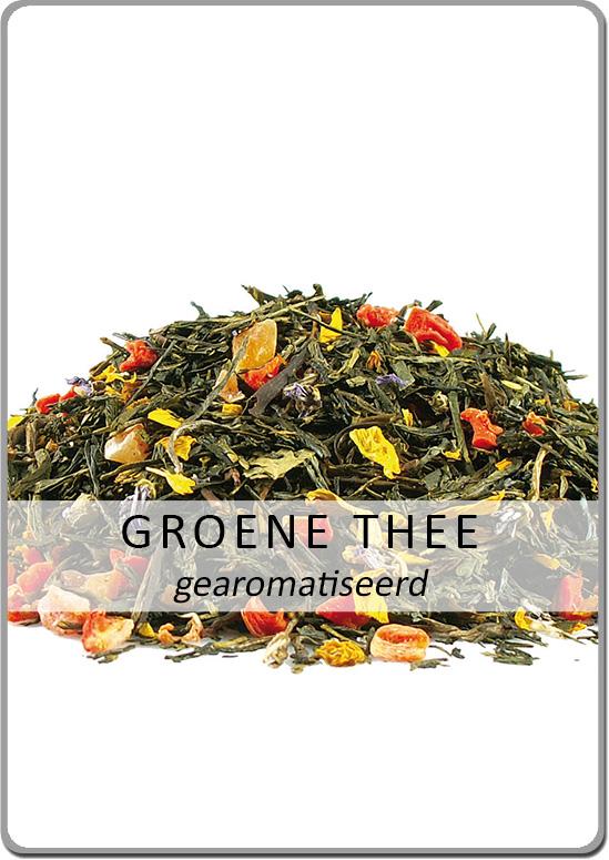 Gearomatiseerde groene thee