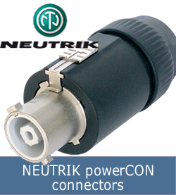 NEUTRIK -powerCON-connectors
