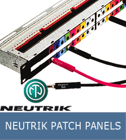 NEUTRIK-PATCH-PANELS