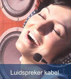 luidspreker-kabels van tasker