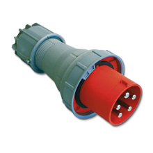 PCE CEE coupler with protective contact  125A 5 poles