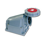 PCE CEE Wall contact box  63A  3 poles