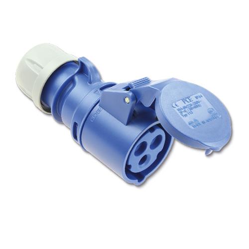 PCE CEE koppelings contactstoppen  16A 3-polig  artikel 102722