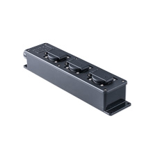 Distribution box for theater and events  3 schuko flush