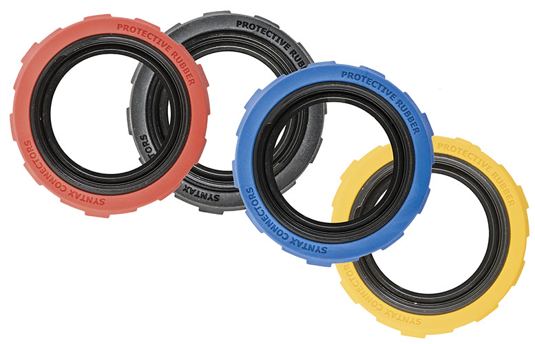 Rubber coated locking ring for SSX Series.19 pin