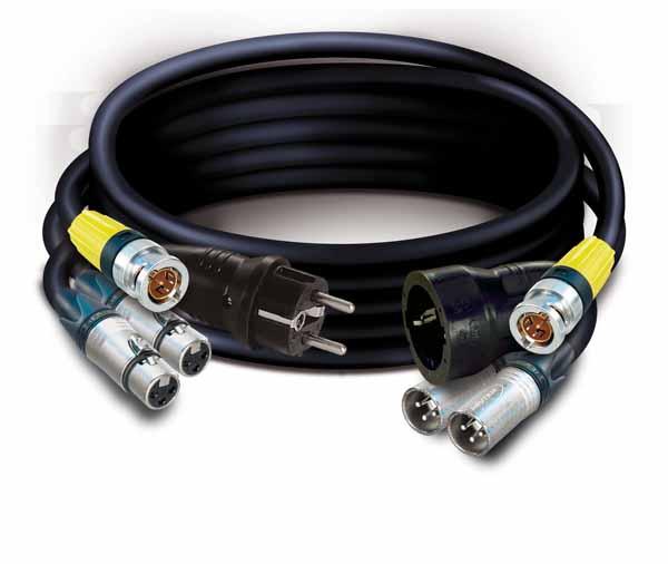 Combi cable C1069  2xDigital audio 1xRG59Flex