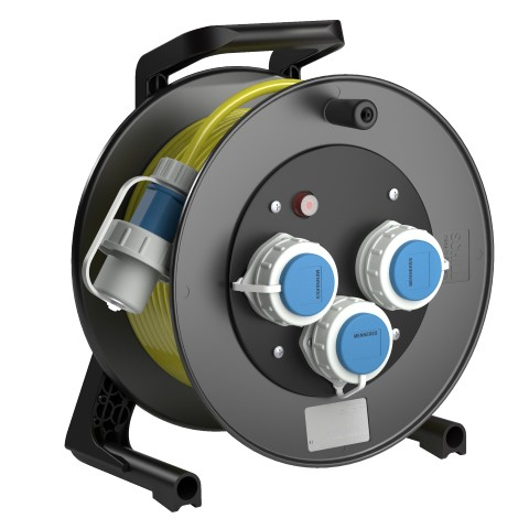Professional Line  Power  WS3  Yellow<br />GT 310.WS3.50KS315*<br />Part-No. 270 35 522 000<br />Protection class IP55<br />Cable (m) 25<br />Cable type H07BQ-F 3G1,5                                                                                                                          suitable for wet areas