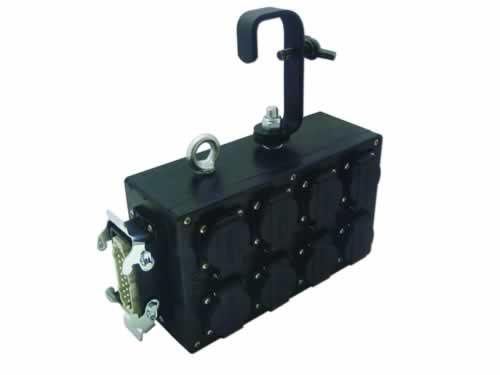 Distribution box for theater and events. Motor winch blocks 4CEE