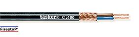 Rood koper gevlochten afgeschermde kabel 4 x 1,00 - CPR<br />C4100