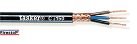 Rood koper gevlochten afgeschermde kabel 3 x 1,50 - CPR<br />C3150