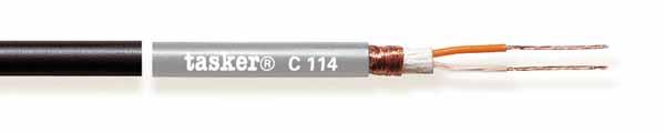 Gebalanceerde microfoonkabel  2x0,25<br />C114