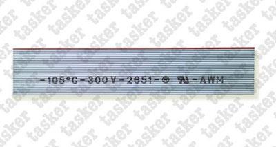Platte kabel 12 geleiders<br />C167