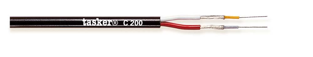 Multivideo afgeschermde kabel 2x0,08<br />C200
