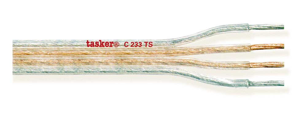 Special divisible transparent flat cable 4x1.50<br />C233TS