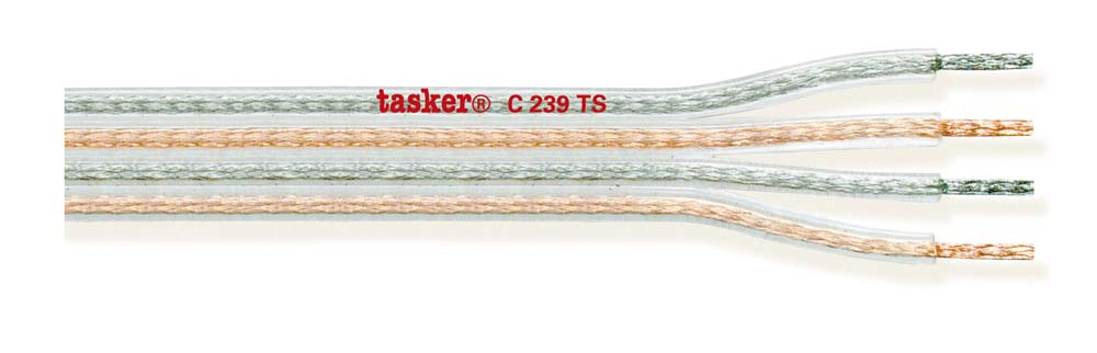 Special divisible transparent flat cable 4x1.50<br />C239TS