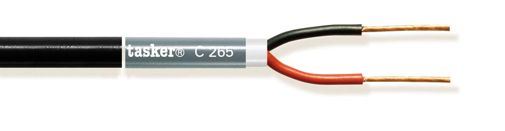 Stage Loudspeaker cable 2x1,00mm&sup2;<br />C265.L.S.Z.H