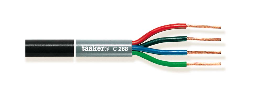 Stage Loudspeaker cable 2x1.5+2x2.5mm² C268