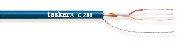 Gebalanceerde analoge microfoonkabel 2x0.22<br />C280