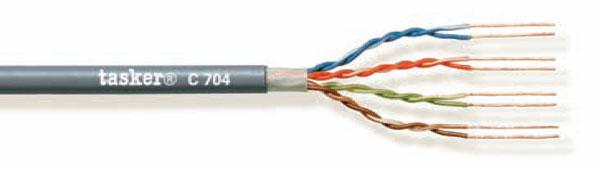 LAN-kabel 5e U.T.P.<br />C704