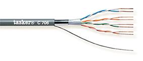 LAN-kabel 5e F-U.T.P.<br />C706