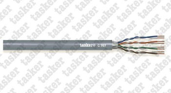 LAN cable 5e U.T.P.<br />C707