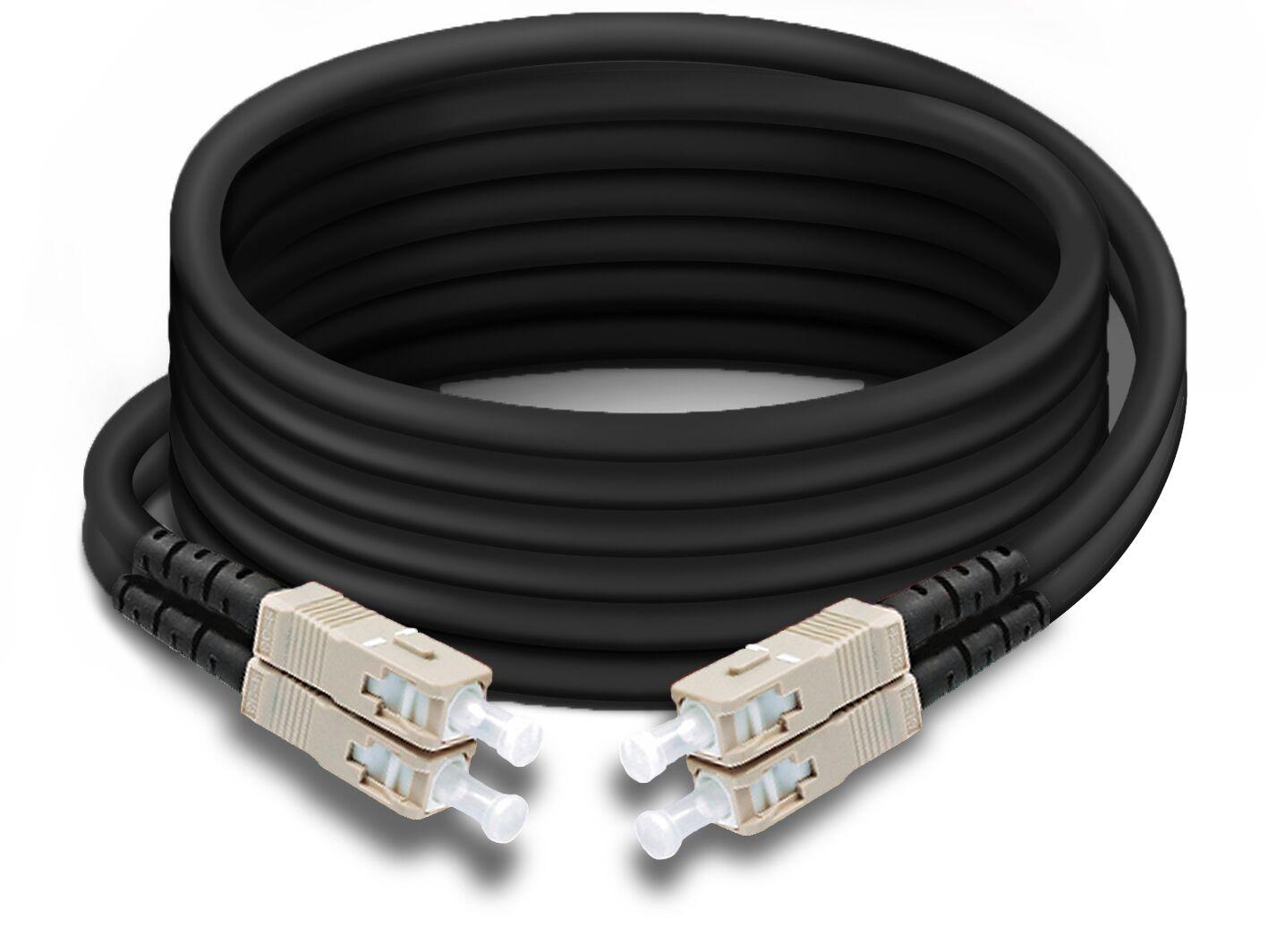 Fiber Optics Duplex Multimode                        D-SC-SC