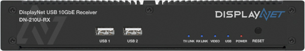 DisplayNet USB 10GbE  Receiver DN-210U-RX