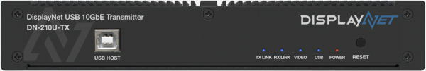 DisplayNet USB 10GbE Transmitter DN-210U-TX