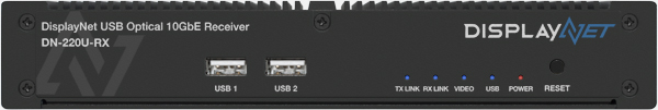 DisplayNet USB Optical 10GbE Receiver   DN-220U-RX