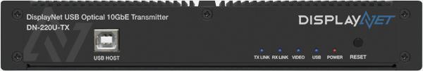 DisplayNet USB Optical 10GbE Transmitter DN-220U-TX