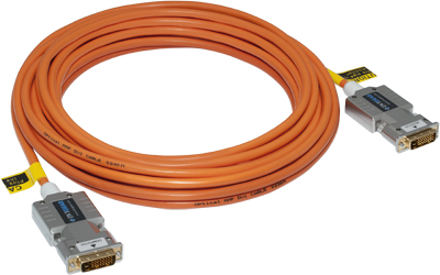 DVI / HDMI Fiber Optic Cables . DVI-2310-FO  Cable DVI / HDMI Fiber Optic, 10 meters  (32.8 ft.)