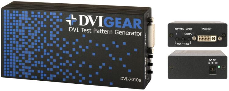Test Pattern Generator DVI <br />DVI-7010a
