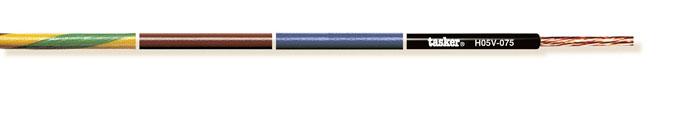 Power cable H05V-075<br />H05V-075