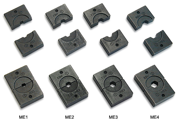Crimping accessories.Hydraulic crimping tool.SBH-ME-1 for cable 4 to 6 mm²