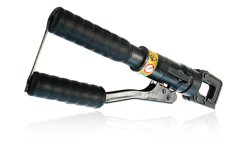 Hydraulic crimping tool.For 4 and 8 contacts size.HYDRAULIC-4-8