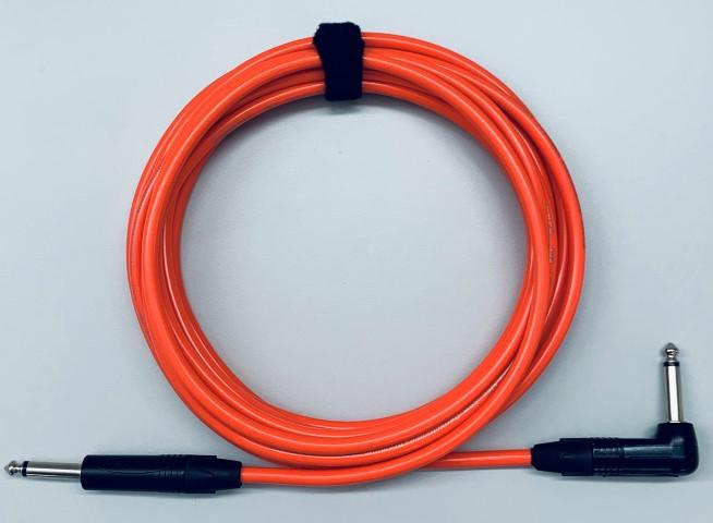 Gitaar kabel NP2X-BAG-NP2RX-BAG  Tasker T33 kleur kabel Oranje
