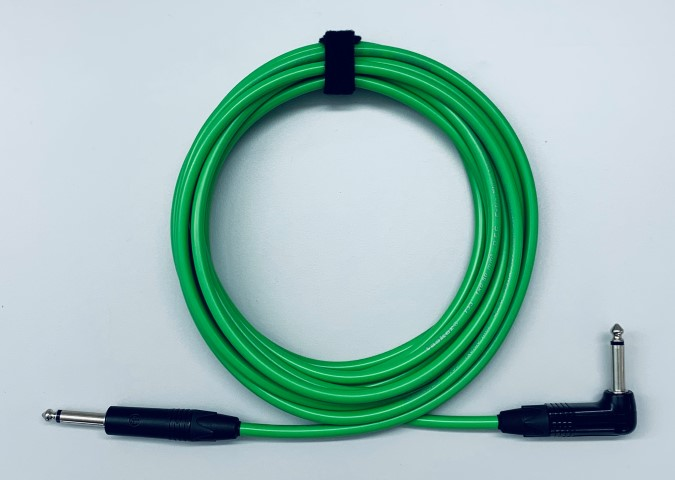 Gitaar kabel NP2X-BAG-NP2RX-BAG  Tasker T33 kleur kabel Groen