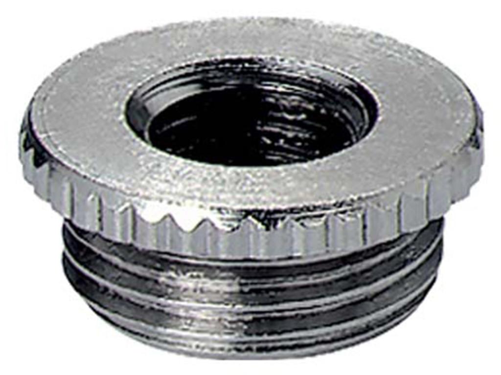 Messing Jacob reduceerringen PG                                                                                  Schroefdraad  PG9  - PG7                                                                                               Materiaal Messing                                                                                                                                                                                                                                                                                      Schroefdraad lengte  6,0mm                                                                                                                    Hoogte ( mm ) 8,5