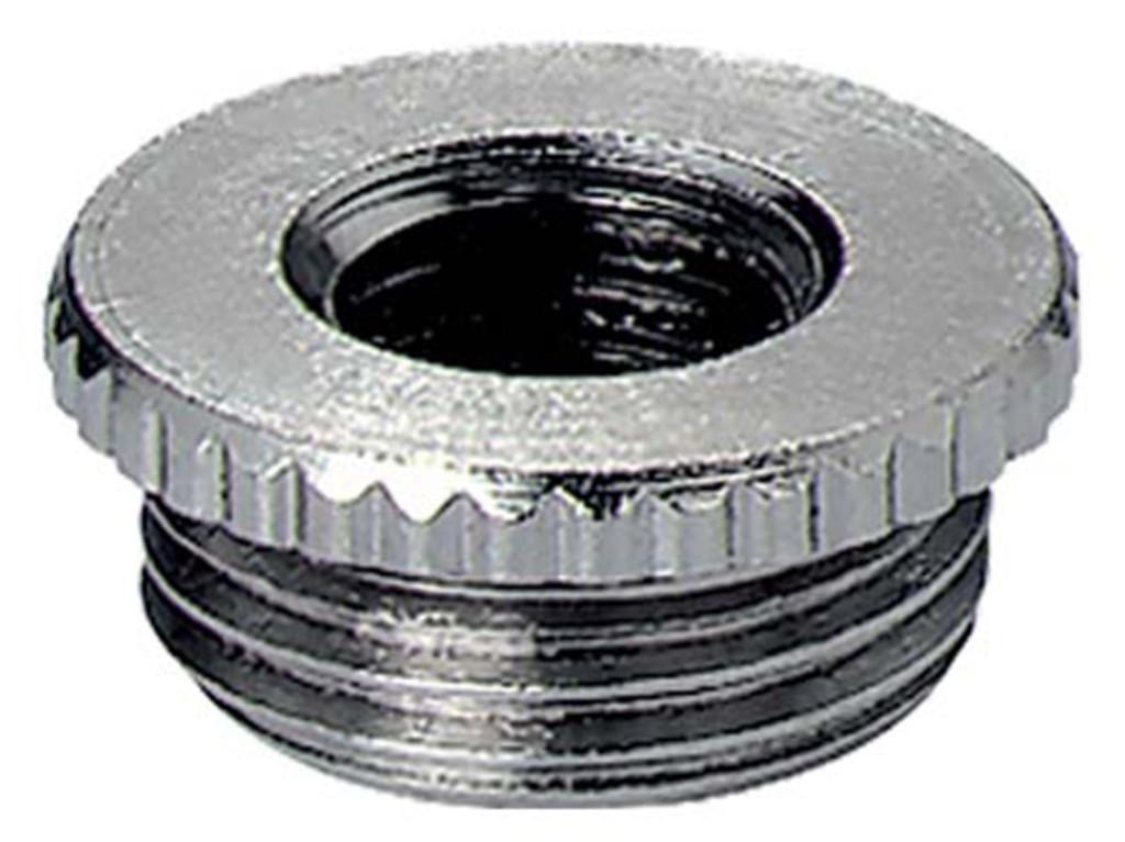 Messing Jacob reduceerringen Metrisch                                                                                   Schroefdraad  M16 x 1,5 - M12 x 1,5                                                                                               Materiaal Messing                                                                                                                                                                                                                                                                                      Schroefdraad lengte  6,0mm                                                                                                                    Hoogte ( mm ) 8,5