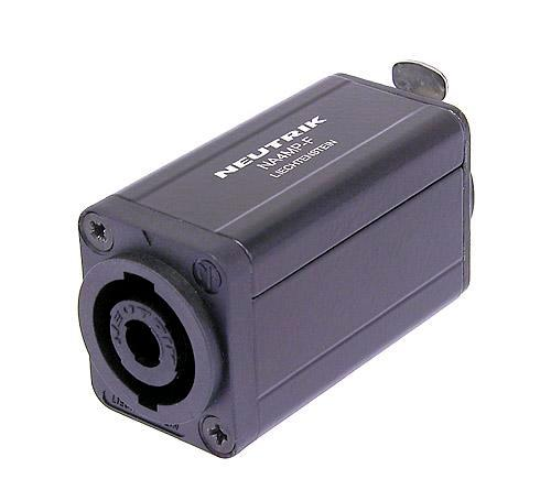 Neutrik Circular D Shape Adapter NA4MP-F speakON