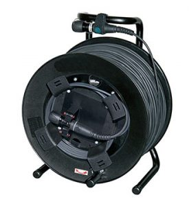 Neutrik opticalCON QUAD-50 cable  50mtr multimode op HASPEL