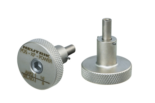 Neutrik POS-XP-POWER<br />The POS-XP-POWER Crimp die is used for the assembly of the power cooper pins.