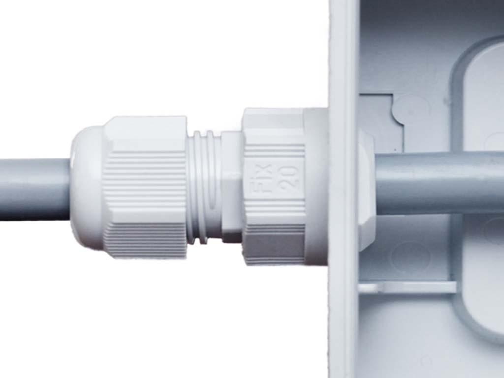 "Polyamide PA6 V-2 Jacob ""Perfect fix"" kabelwartels  metrisch                                                                            Schroefdraad aansluiting M16 x 1,5                                                                                                                                                                                                         Wand dikte (mm)  1-4                                                                                                                                                                                                                                                                                                                              Hoogte  (mm)  38,5                                                                                                                                   Gat Diameter (mm) 16,1-16,3                                                                                                                              Kleur  donker grijs RAL7001 Dark Gray                                                                                                                                                                                                                                      Kabel min. 5,0 max. 10,0"
