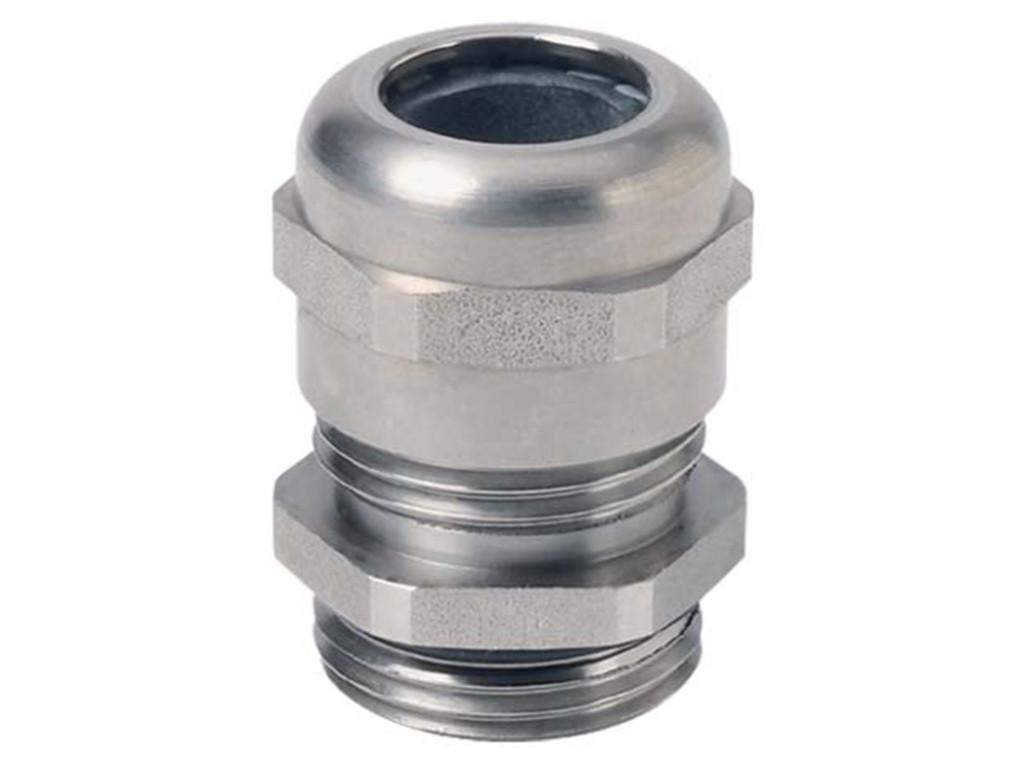 Roestvast staal Jacob kabelwartels. Metrisch                                                                               Schroefdraad M12 x 1,5                                                                                                                                  Kabel  min. 3,0  max. 6,0                                                                                                                              Materiaal Roestvast staal                                                                                                                       Schroefdraad lengte 5,0 mm